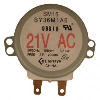 Моторчик вращения тарелки микроволновой печи на 21 volt SM16 BY36M1A6