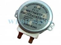 Моторчик вращения тарелки микроволновой печи на 220 volt ST-16 MN73MSTP3